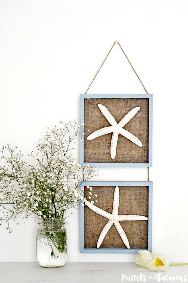 Make Starfish Wall Art Decor - DIY