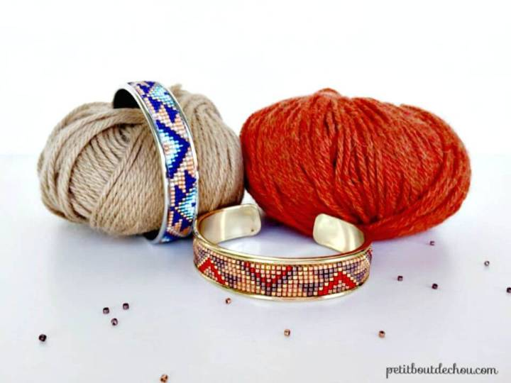 Make Your Own Bead Loom Cuff Bracelets - DIY Homemade Jewelry Ideas