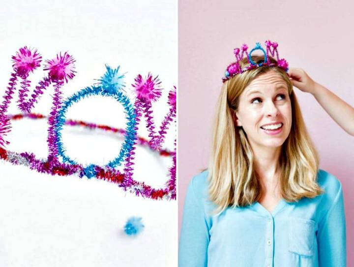 Make Your Own Crown For Moms - DIY