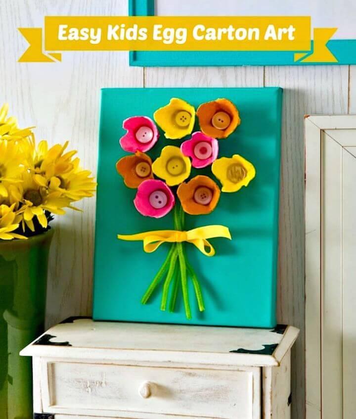 Make Your Own Egg Carton Art - DIY Egg Carton Crafts