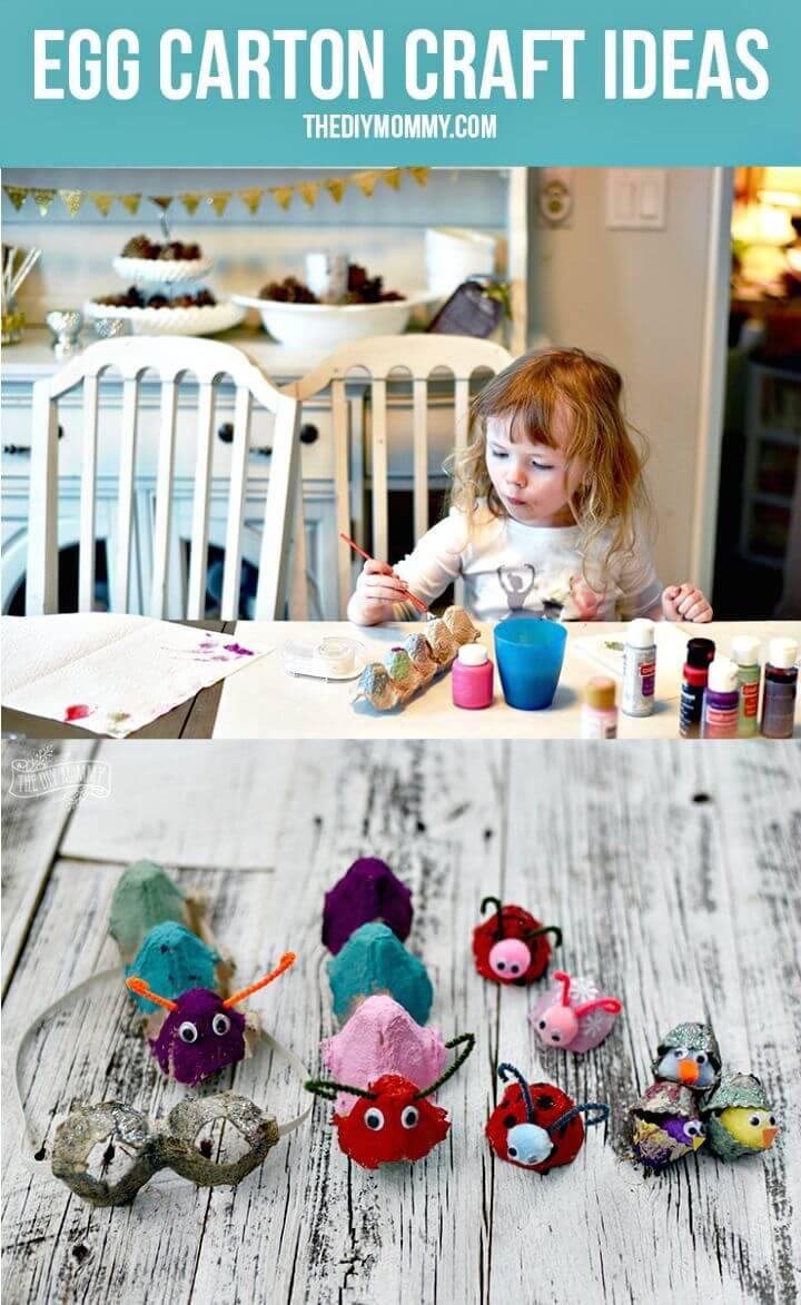 Make Your Own Egg Carton Craft Idea - DIY Crafts