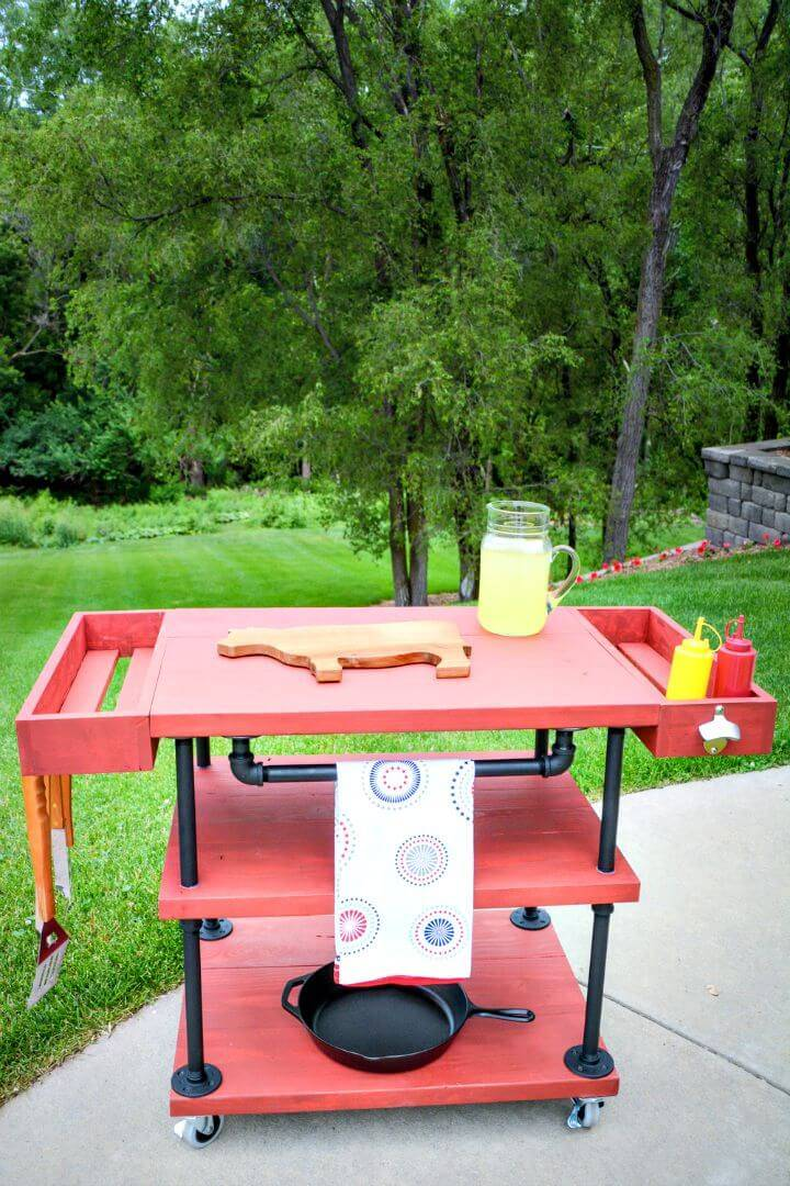 Make Your Own Grilling Cart - DIY
