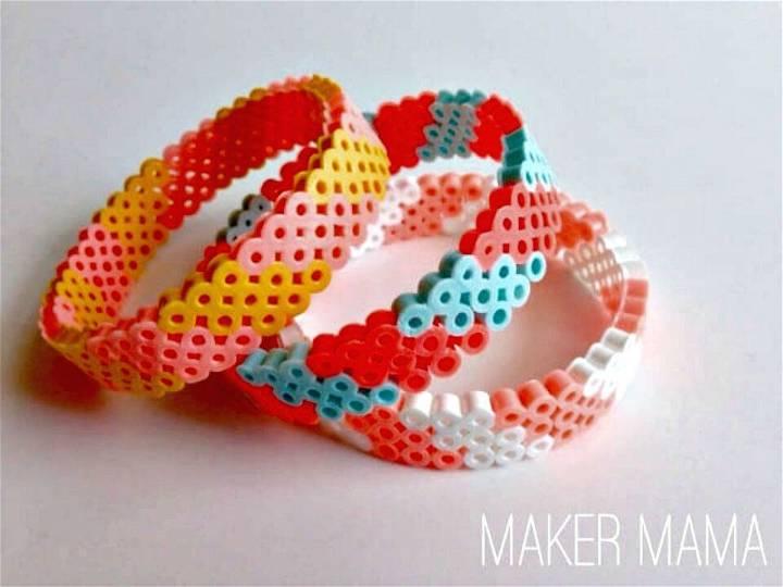 Adorable DIY Hama Bead Bracelet