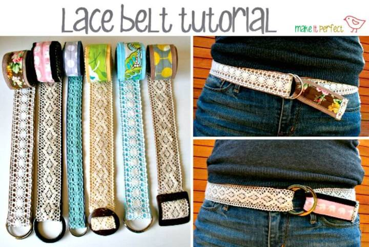 Make Your Own Lace Belt - A Gift Idea
