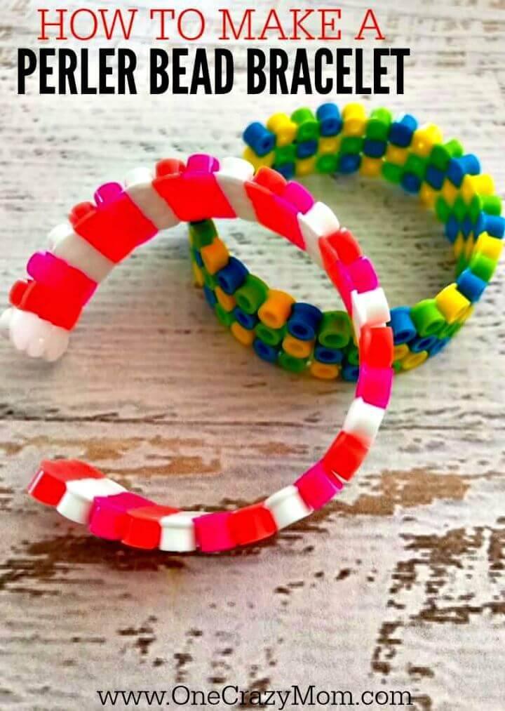 DIY Perler Beads Bracelets