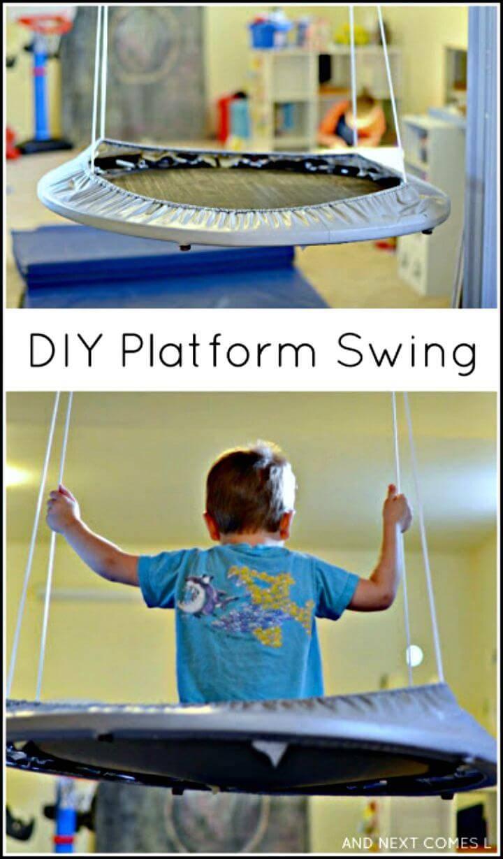 Make Your Own Platform Swing - DIY