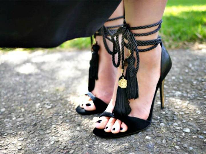 Make Your Own Tassel Sandals - DIY