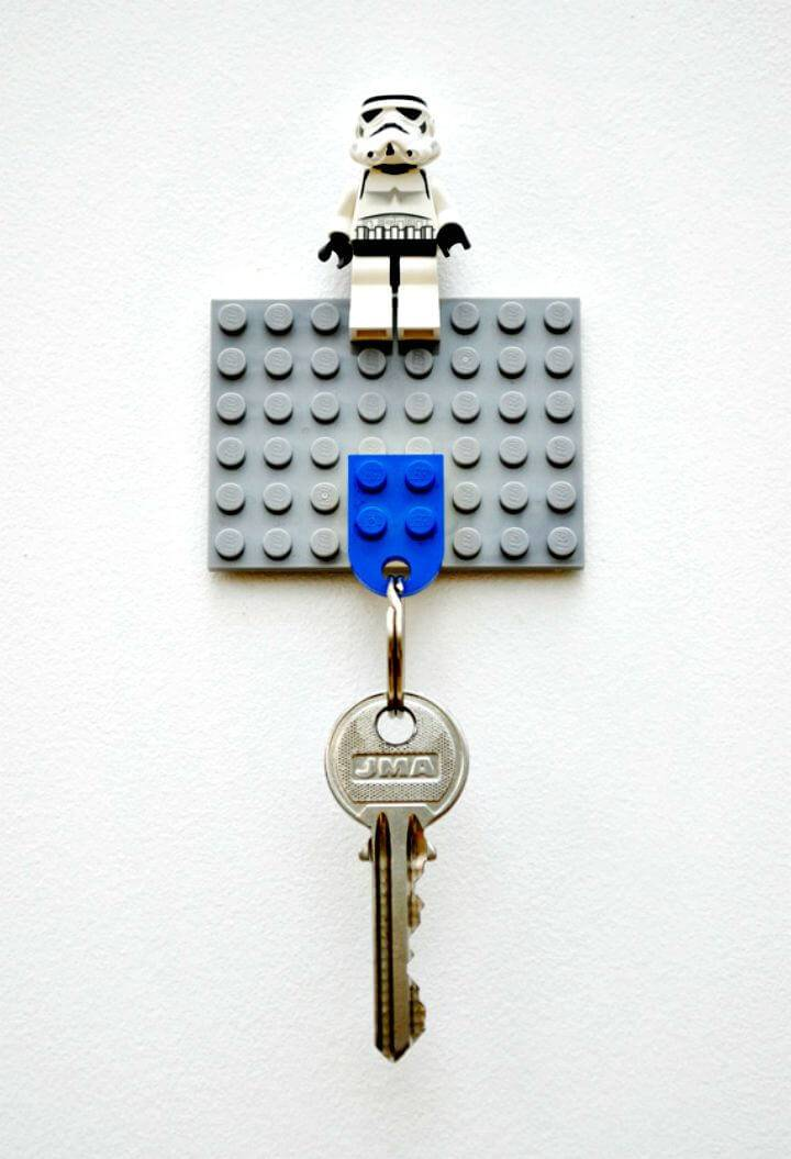 How to Make Lego Key Holder