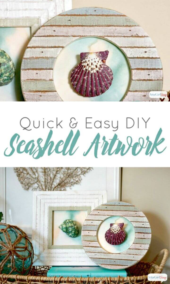 Quick DIY Seashell Artwork Tutorial