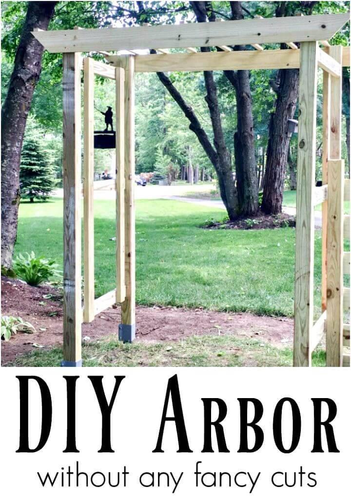 20 Chic and Easy DIY Arbor Plans | DIY Arbor for Wedding ...