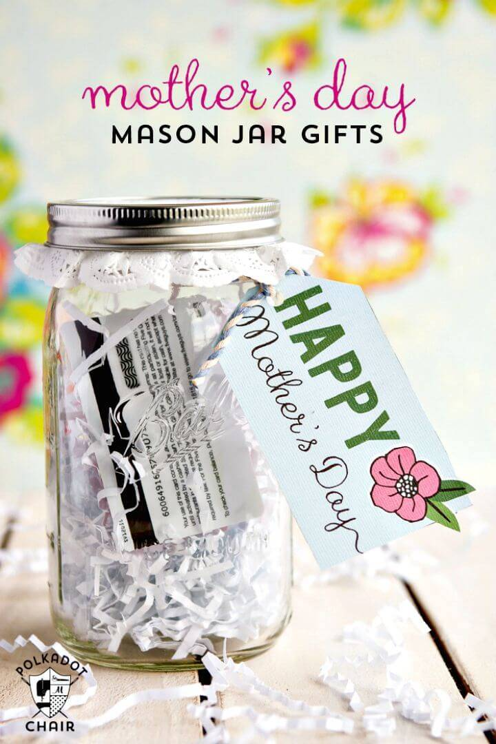 DIY Mother's Day Mason Jar Gift Idea