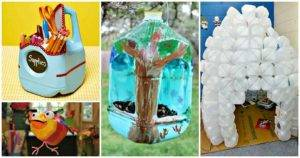 16 Easy Ideas to Reuse Milk Jugs for Crafts