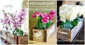 36 DIY Wooden Box Centerpiece Ideas (Full Tutorials) - DIY Home Decor Ideas - DIY Crafts - DIY Projects - EASY DIY Centerpiece Ideas