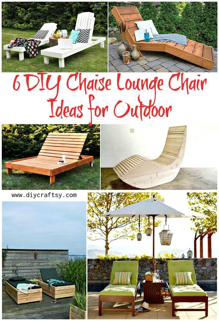 6 Diy Chaise Lounge Chair Ideas For Outdoor ⋆ Diy Crafts