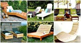 6 DIY Chaise Lounge Chair Ideas for Outdoor-DIY Crafts - DIY Furniture Ideas DIY lounger Ideas-DIY Lounge Chair Projects-Easy DIY Projects