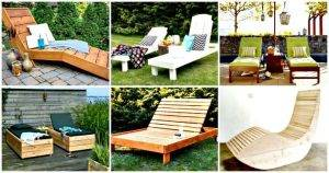 6 DIY Chaise Lounge Chair Ideas for Outdoor