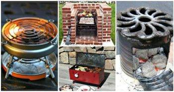 9 DIY Barbecue Grill Set Ideas, DIY Projects, DIY Crafts, DIY Home Decor Ideas, Easy Craft Ideas - DIY Barbecue Grills