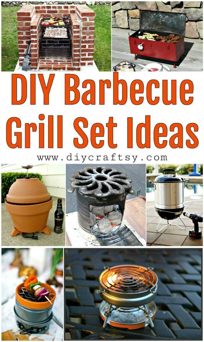 9 Diy Barbecue Grill Set Ideas Diy Crafts