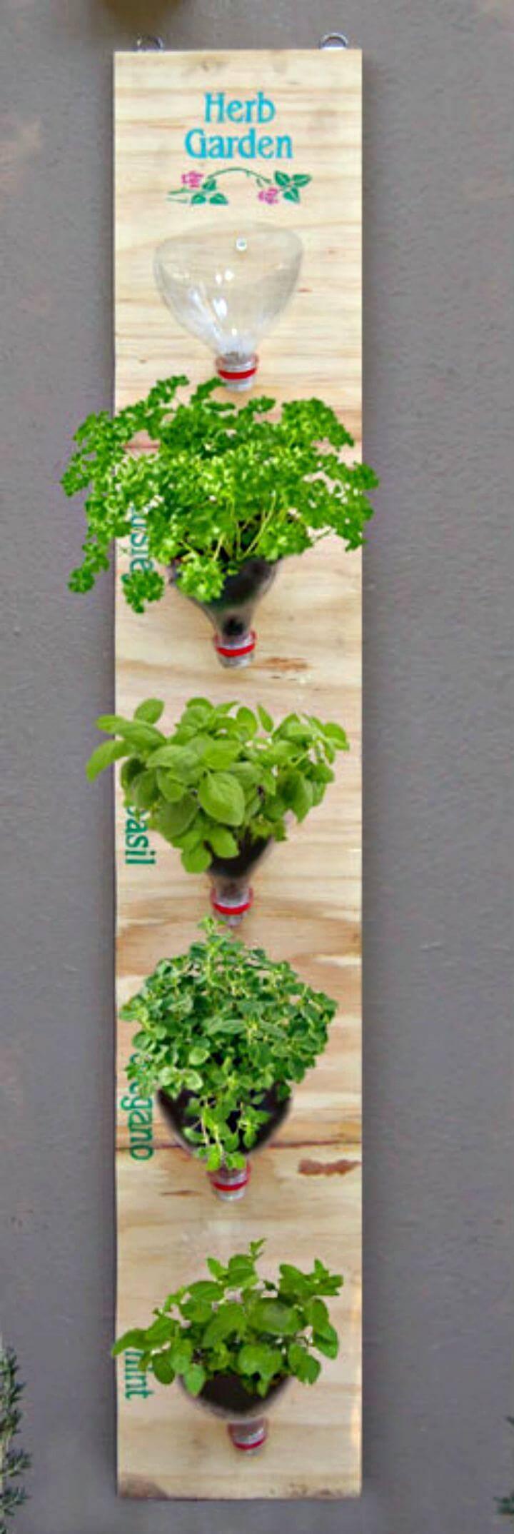 How to Build Hanging Herb Garden