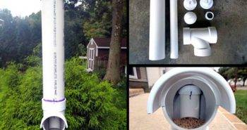 How to Make PVC Chicken Feeder