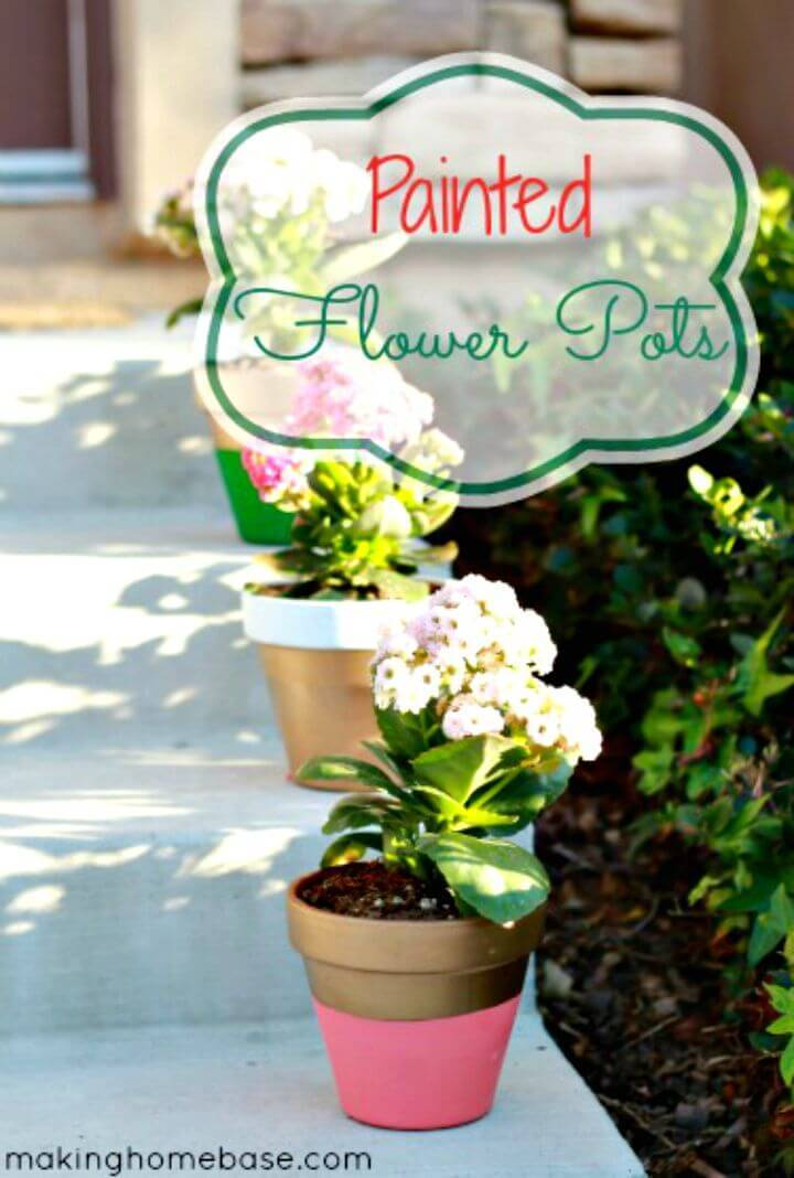 How to Paint THE Flower Pots