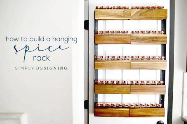 Build Your Own Spice Rack - DIY