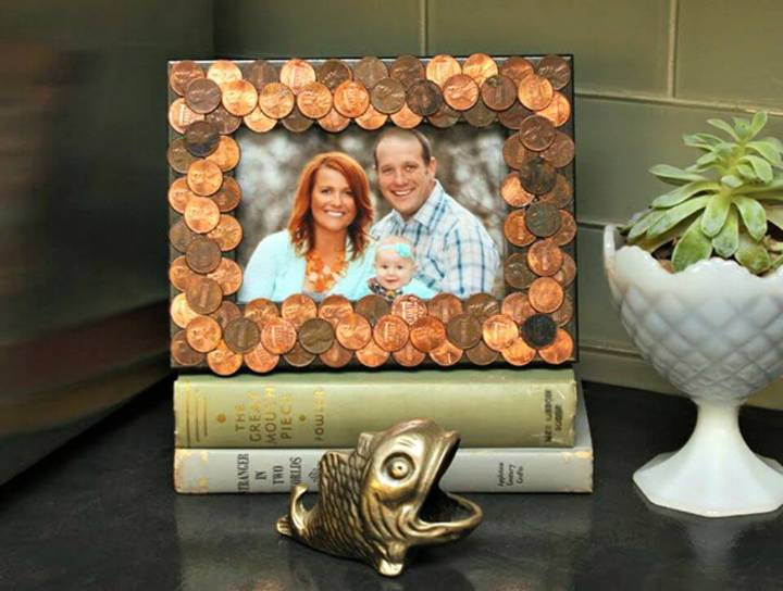 How to Make Penny Photo Frames
