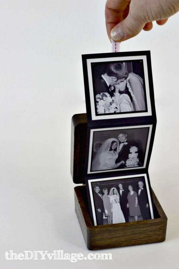 How to Make Pop-Up Photo Box - DIY Gifts For Boyfriend