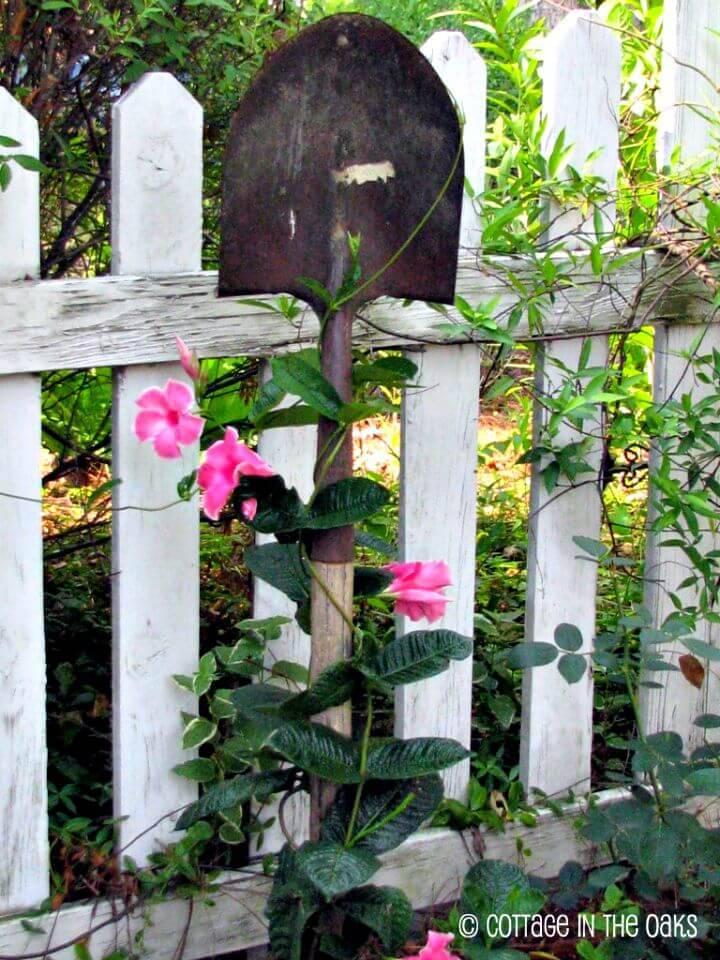 Beautiful DIY Plant Trellis