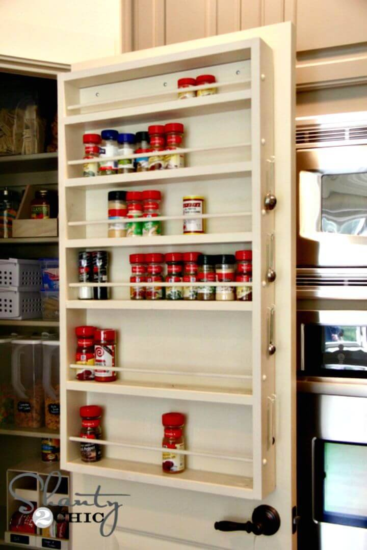 DIY Spice Rack Tutorial