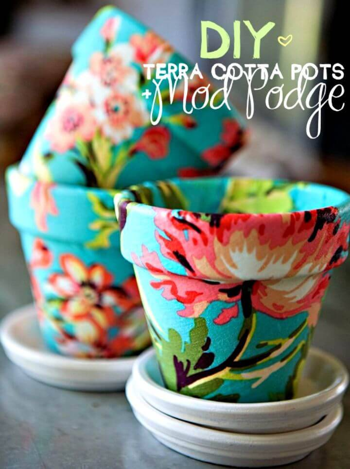 How to DIY Terra Cotta Pots