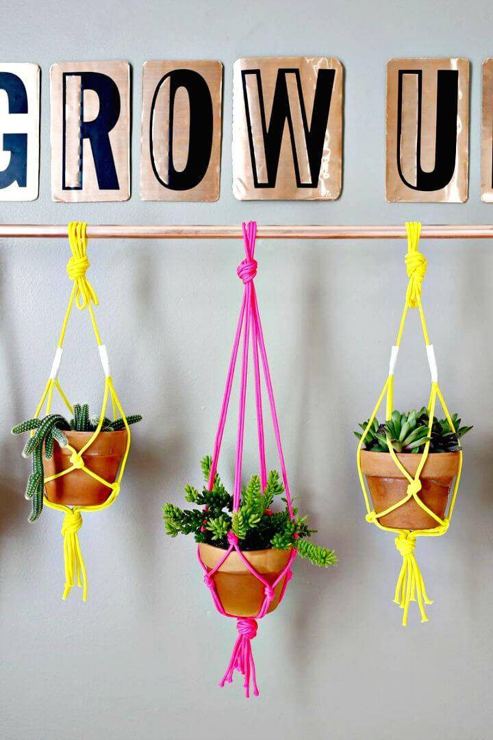 How to Make Copper Pipe Hanging Herb Planter