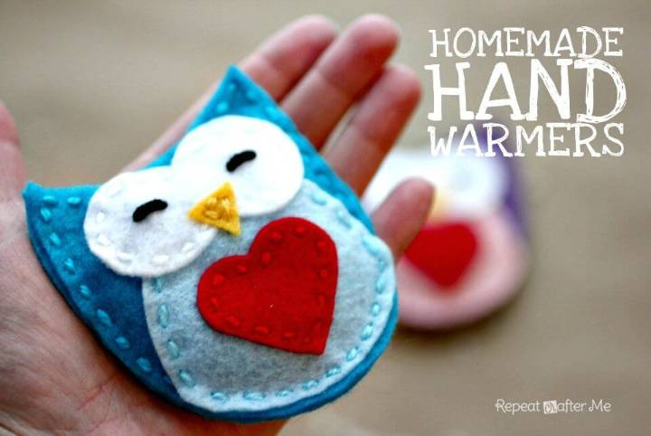 Cute DIY Homemade Hand Warmers Gift