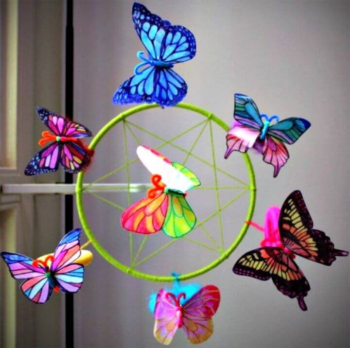 DIY Butterflies From Milk Jug