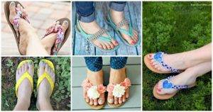 DIY Flip Flops -25 Ways to Refashion Your Flip Flops