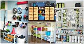 DIY Garage Storage Ideas, Garage Storage Shelves, Garage Storage Plans, DIY Projects, DIY Home Decor Ideas, easy DIY Crafts