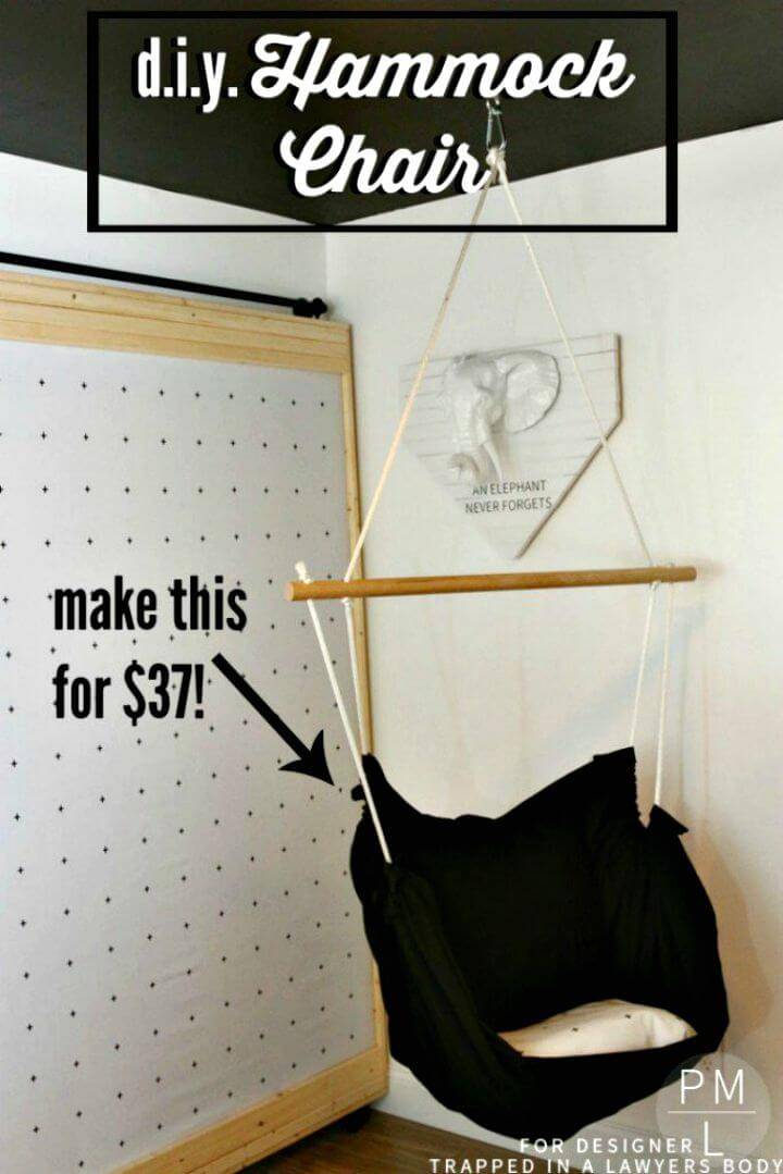 How to DIY Hammock Chair for $37