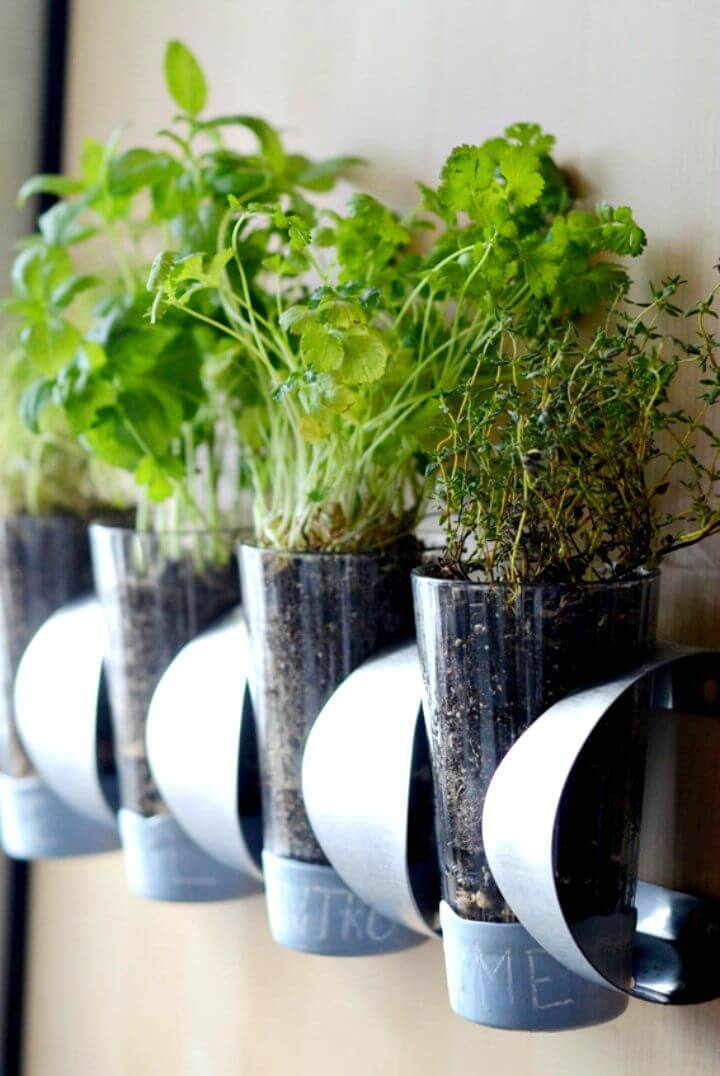 DIY Indoor Herb Garden IKEA Hack