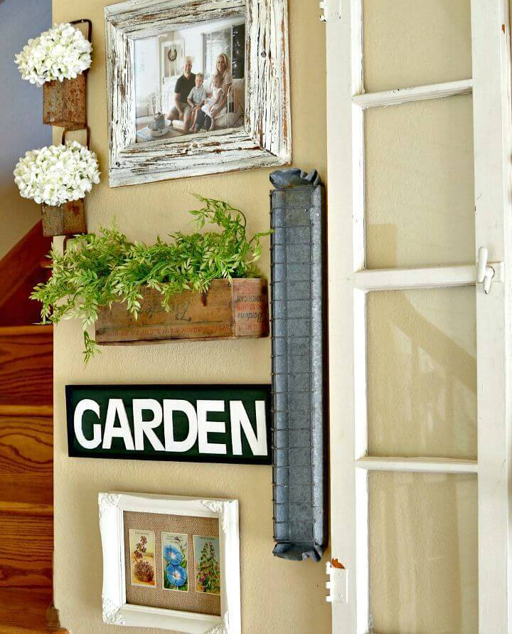 DIY Custom Magnolia Market Inspired Garden Sign