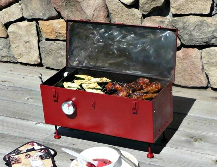 How to DIY Portable Toolbox Grill