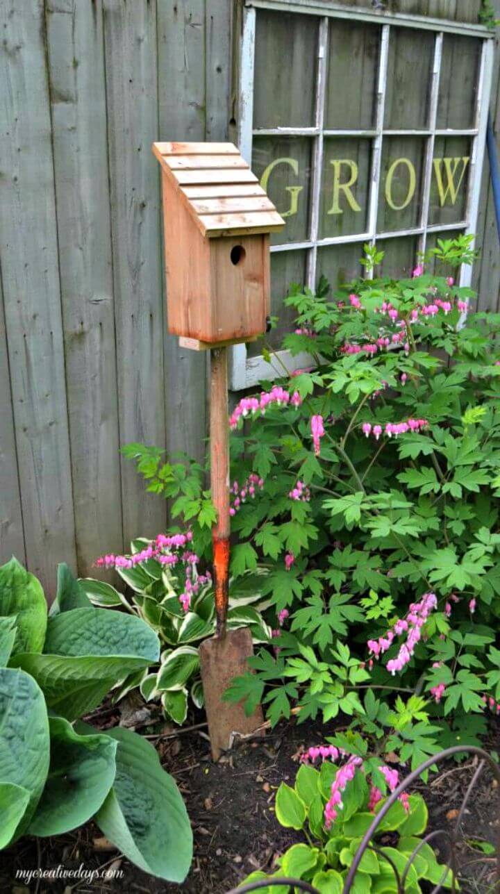 How to Build a Re-purposed Bird House