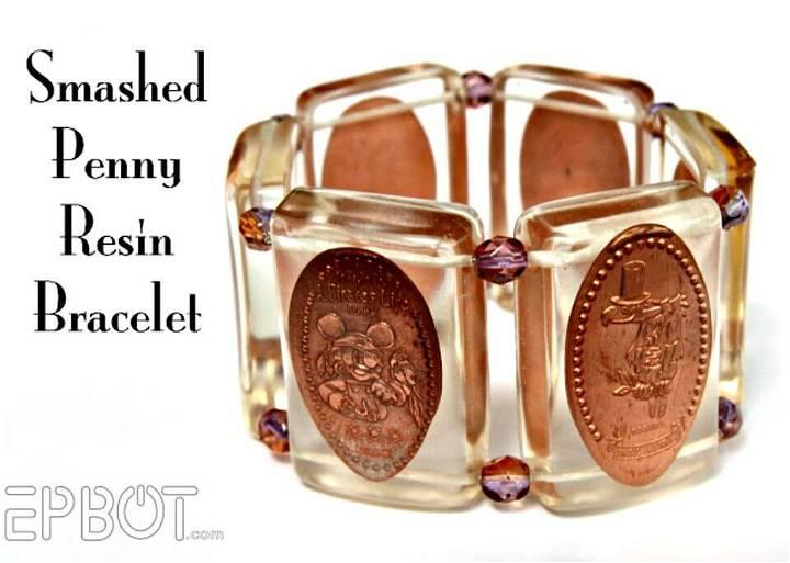 Awesome DIY Smashed Penny Bracelet