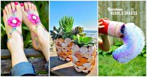 DIY Summer Crafts To Try This Summer - Summer Crafts That Are Easy and Fun to Make - DIY Projects - DIY Crafts - Easy Craft Ideas for Summer and Spring