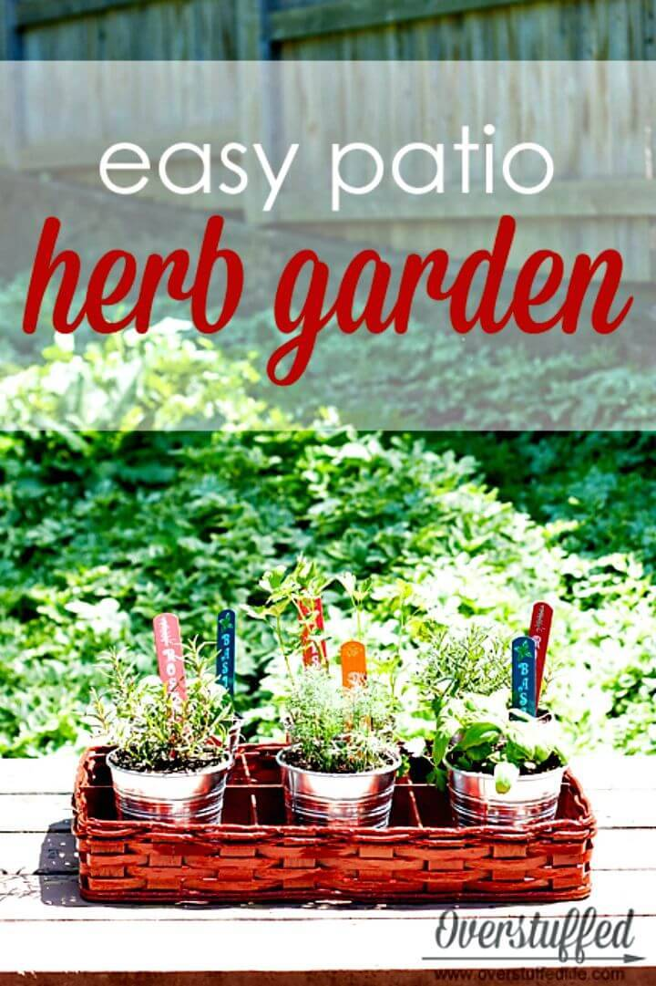 diy pallet herb garden instructions