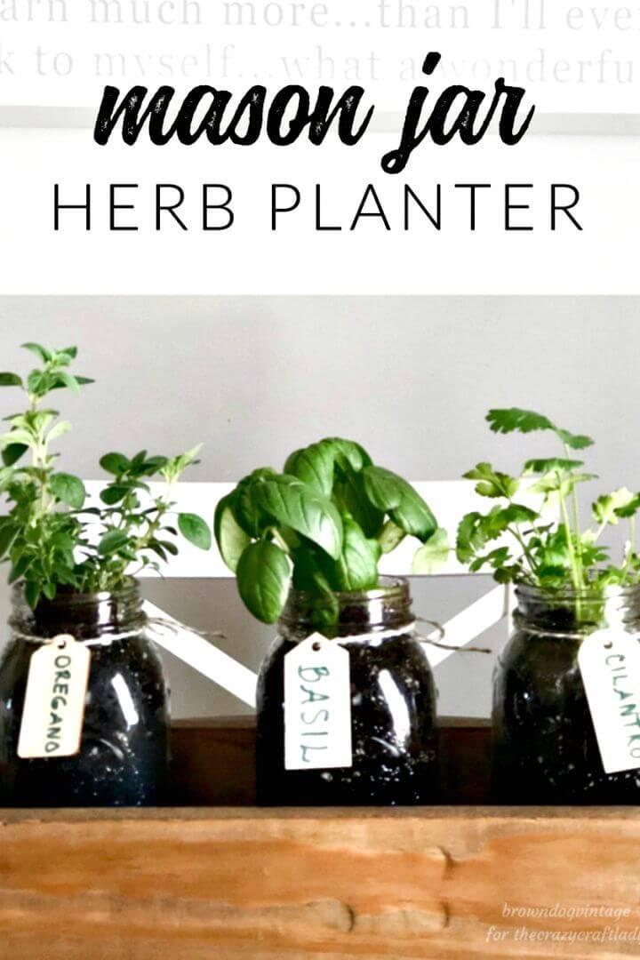 How to DIY Herb Garden