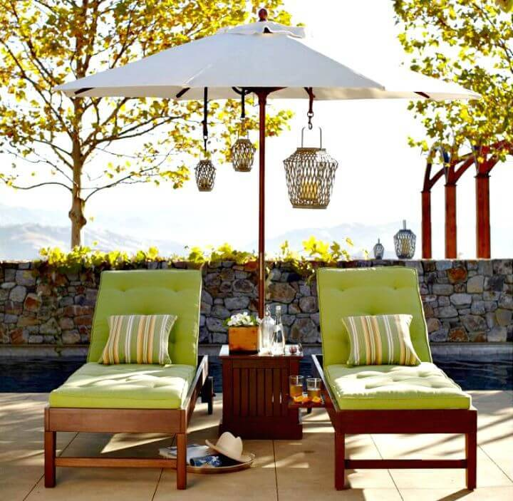How To Build Outdoor Poolside Lounges - DIY Wooden Projects