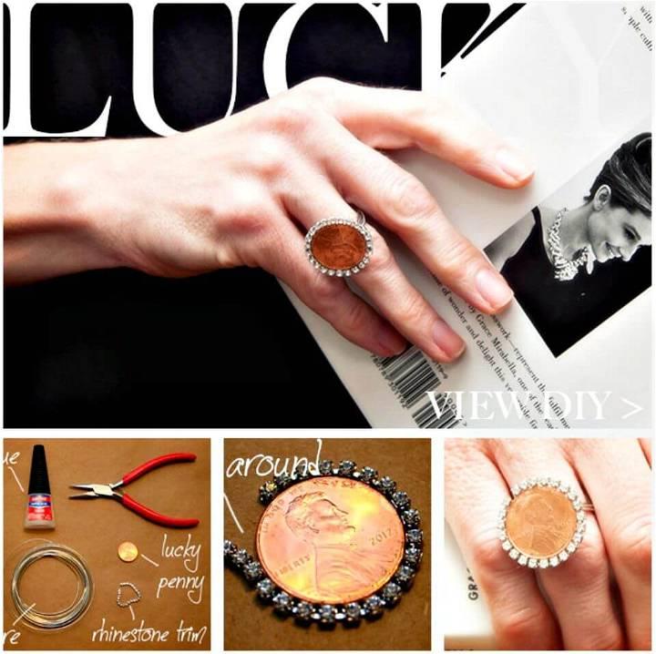 Cute DIY Penny Ring