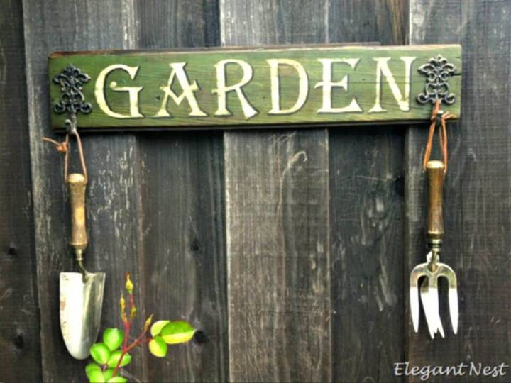 How To Make Garden Sign - DIY Garden Sings Ideas