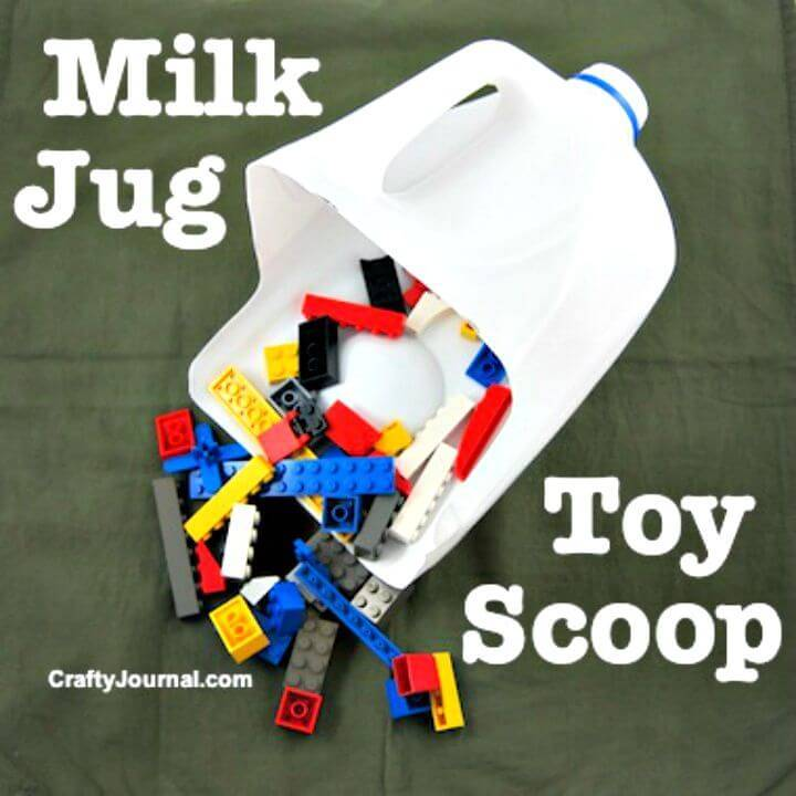 How To Make Milk Jug Toy Scoop - DIY Crafts