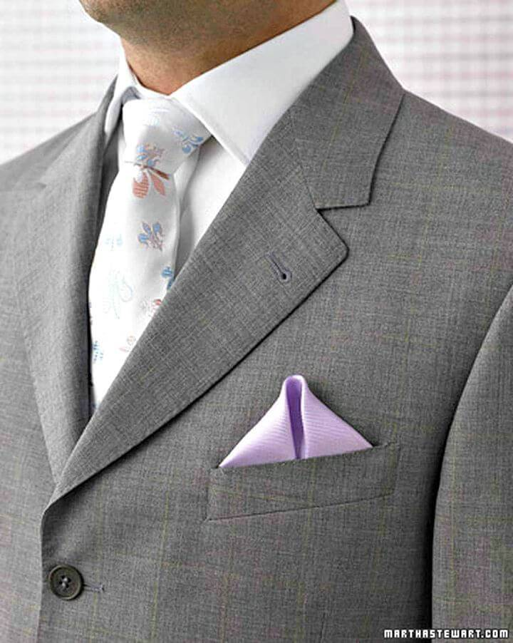 How To Make Pocket Square - DIY